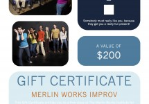 Gift Certificate 2013 image web