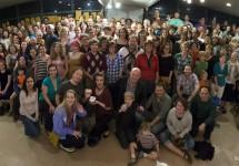 Austin Improv Collective Thanksgiving Potluck 2012