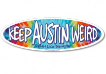 5354STIC_KeepAustinWeirdSticker